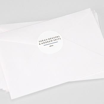 Stickers Huwelijk - Blue Color Touch - 0