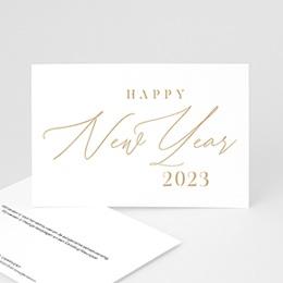 Professionele wenskaarten Calligraphic Year