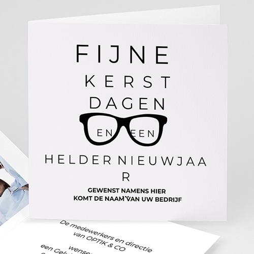 Professionele wenskaarten Opticien