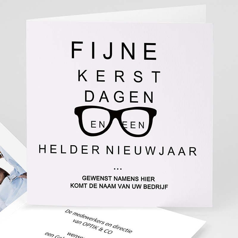 Professionele wenskaarten - Opticien 68236 thumb