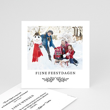 Kerstkaarten 2019 - Mini kerstkaartjes - 0