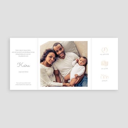 Geboortekaartje meisje - Roze Windmolentjes 68407 thumb