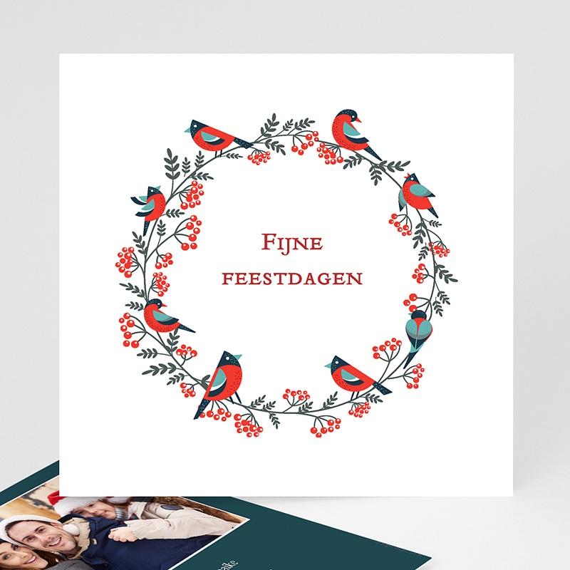 Kerstkaarten 2019 - Couronne de Noël 68462 thumb