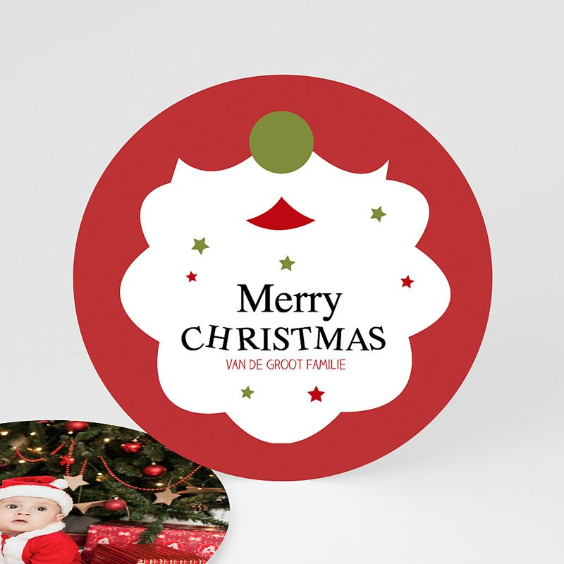 Kerstkaarten Kerstbaard