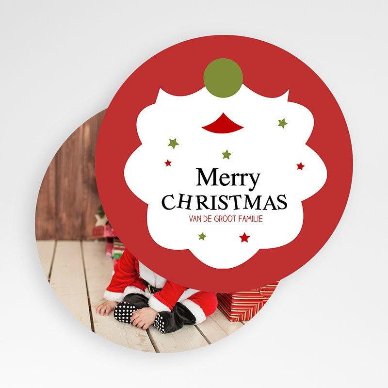 Kerstkaarten Kerstbaard gratuit