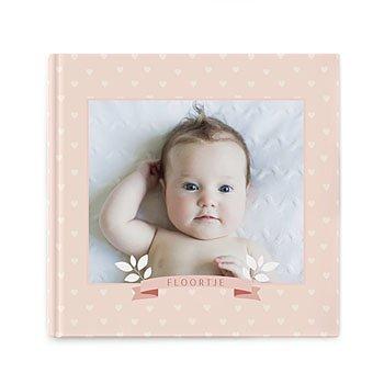 Fotoboeken Vierkant 20x20 cm - Un monde rose - 0