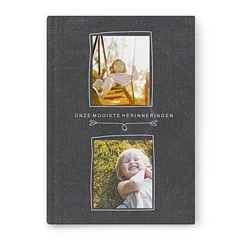 Fotoboeken A4 Staand - Album op leisteen - 0