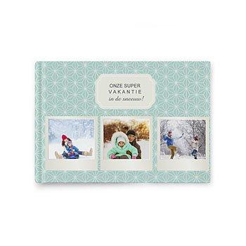 Fotoalbum A5 liggend - Winteralbum - 0