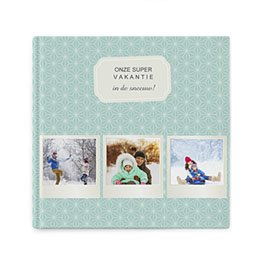 Fotoboeken Vierkant 20x20 cm - Winteralbum - 0