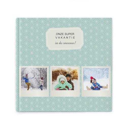 Fotoabum vierkant 20x20 cm - Winteralbum 68648 thumb