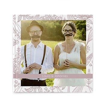 Fotoboeken Vierkant 20x20 cm - Mariage Royal - 0
