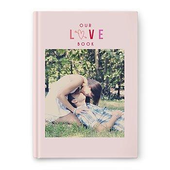Fotoboeken A4 Staand - Valentijns album - 0