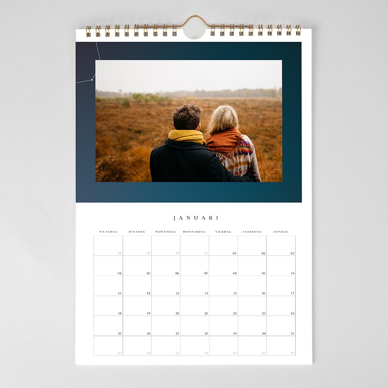 Personaliseerbare kalenders 2019 - Sterrenhemel 68879 thumb