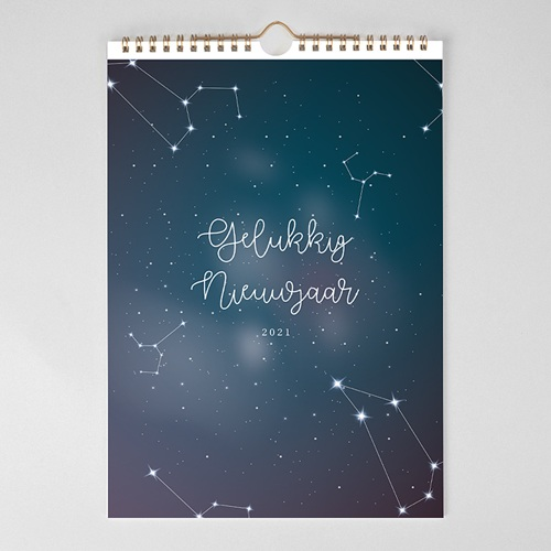 Personaliseerbare kalenders 2019 - Sterrenhemel 68880 thumb