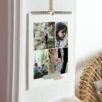 Muurkalender 2020 - Penseelstreken - 0