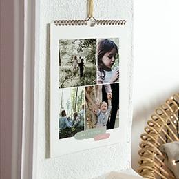 Personaliseerbare kalenders 2019 - Penseelstreken - 0