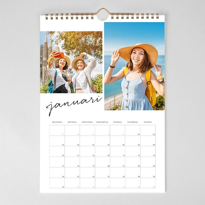 Personaliseerbare kalenders 2019 - Typo Brush 68891 thumb
