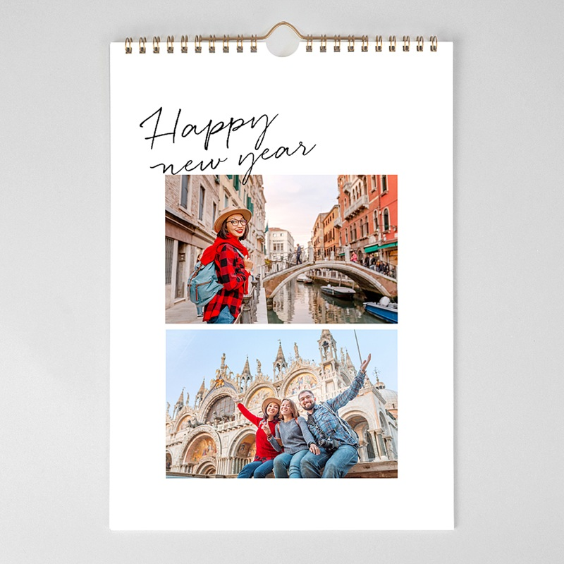 Personaliseerbare kalenders 2019 Typo Brush pas cher