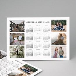 Kalender jaaroverzicht - Familiefoto's - 0