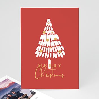 Kerstkaarten 2019 - Witte Kerstboom - 0