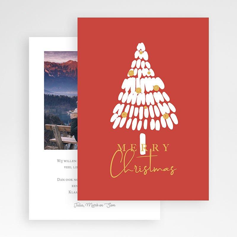 Kerstkaarten 2019 - Witte Kerstboom 68943 thumb