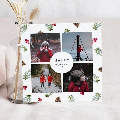 Kerstkaarten 2019 Foto's in het bos