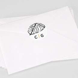 Stickers Huwelijk Zomers Geel