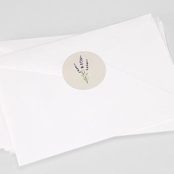 Stickers Huwelijk - Lavendel - 0