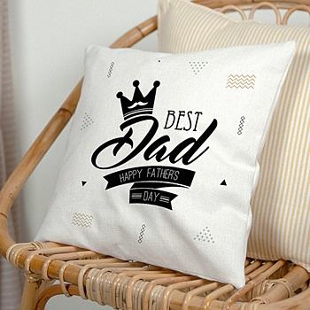 Kussens bedrukken Best Dad