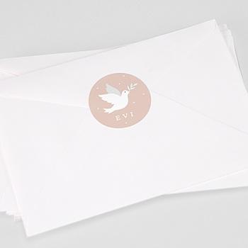 Stickers communie - Holly Spirit Roze - 0
