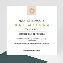 Bat-Mitsva uitnodiging Thora