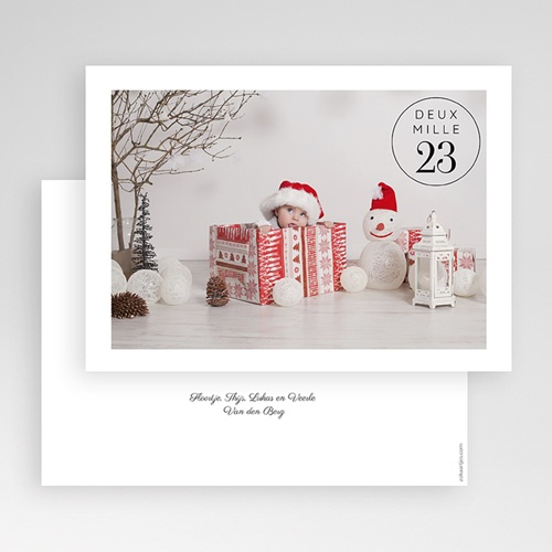 Kerstkaarten 2019 - Kerst Stempel 69477 thumb