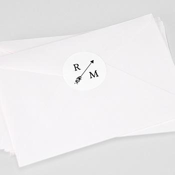 Stickers Huwelijk - Boho pijl - 0