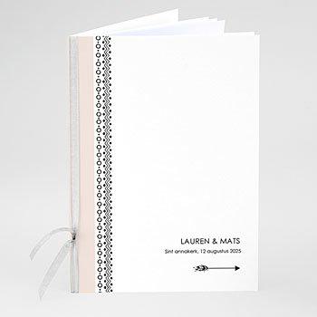 Boekomslag voor kerkboekje - Krans Boho - 0