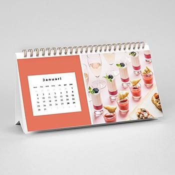 Professionele kalender - Liggend formaat - 0
