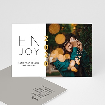 Kerstkaarten 2019 - Enjoy - 0
