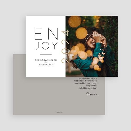 Kerstkaarten 2019 Enjoy gratuit