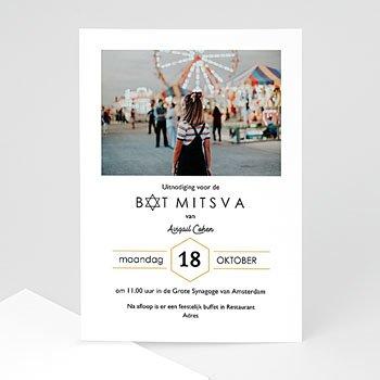 Bar mitsva uitnodiging Bat Mitsva uitnodiging