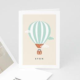 Aankondiging Geboorte Luchtballon jongen
