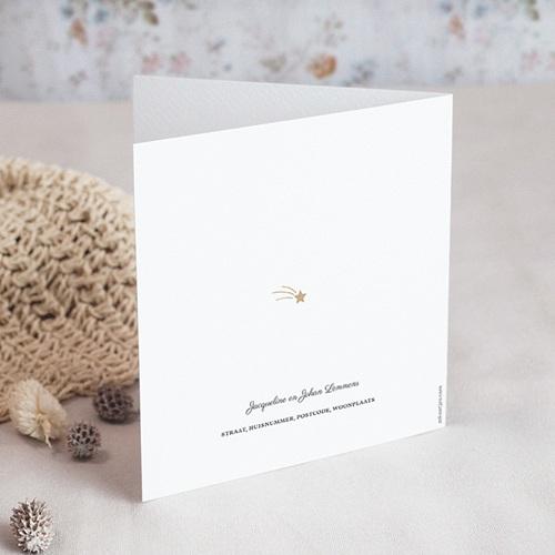 Rouwkaarten Vredesduif goudtakje gratuit