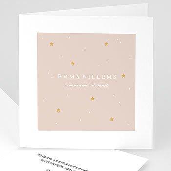 Rouwkaarten - Gouden heelal - 0