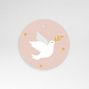 Stickers communie - Holy Spirit Roze - 0