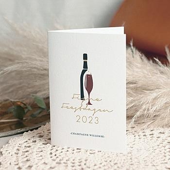 Professionele wenskaarten - Champagne - 0