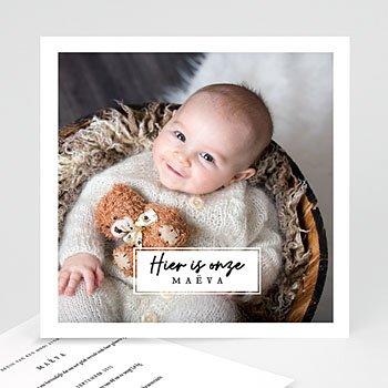 Geboortekaartjes met foto - Onze liefste - 0