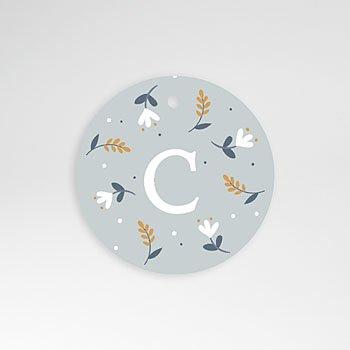Etiket geboorte - Knuffelkonijntje - 0