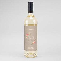 Etiket Voor Wijnfles Buitenleven