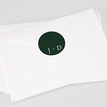 Stickers Huwelijk - Eucalyptus - 0