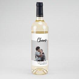 Etiket Voor Wijnfles Mastic Majestic
