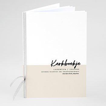 Boekomslag voor kerkboekje - Mastic Majestic - 0