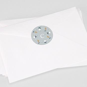 Stickers Geboorte - Knuffelkonijntje - 0